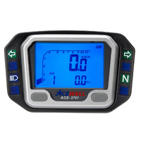 Acewell 3701 Digital Speedo for Kawasaki KLX650 With Plug in Speedo Cable