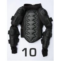Child Kids Motocross Dirt Bike BMX Body Armour Size 10
