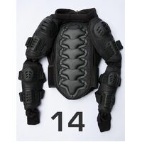 Child Kids Motocross Dirt Bike BMX Body Armour Size 14