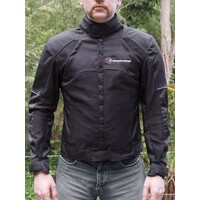 CoolProtec Summer Mesh Jacket Full Armour Size Large
