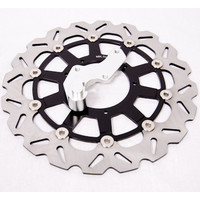 320mm Oversize Brake Disc + Caliper Bracket Honda Supermotard CRF250 CRF450 R X