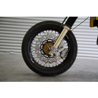 320mm Oversize Disc with silver TRS084 bracket for Suzuki DRZ400