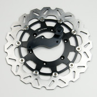 320mm Oversize Brake Disc + Caliper Bracket Yamaha Supermotard WR250, WR450 03-12, YZ250F, YZ450F 01-06