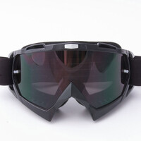 Adult Viper Goggles with Tint lens - Black. Motorbike, Motocross, Snowboarding, Ski