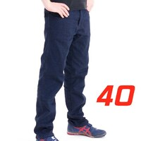 'Straight Leg'  Motorcycle Motorbike Jeans Blue Stretch Denim reinforced with Protective Lining Size 40