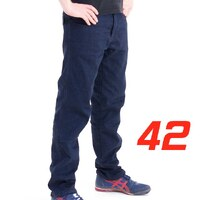 'Straight Leg'  Motorcycle Motorbike Jeans Blue Stretch Denim reinforced with Protective Lining Size 42