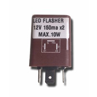 LED Flasher Can 150mA Rated For Large Draw LED Indicators with Diagnostic