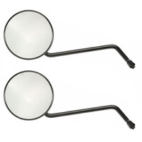Universal Motorcycle Motorbike Scooter Mirrors PAIR