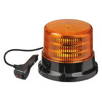 CLASS 1 LED Warning Strobe Light 9-36V Magnetic Base Cig Lighter Plug