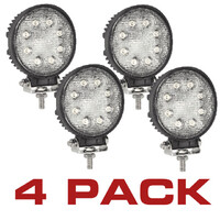 LED Tractor Ute Truck Work Lamp Kit 10-30V 24W 4 Pack