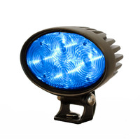 Blue Forklift Warehouse Pedestrian LED Safety Warning Lamp Shines Blue Spot