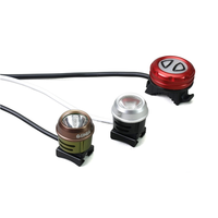 Xeccon Geinea front and rear LED light Commuter kit with shared battery pack