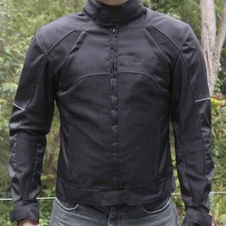 Breathable Summer Hot Weather Mesh Jacket Motorcycle Motorbike CE Armour XXL