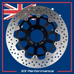 Disc Rotor Front Floating ZX900 GPZ900R 90-98 ZX6 ROUND