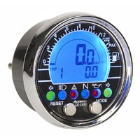 Acewell 2853 Digital Speedometer with Chrome fascia/bezel Road Worthy Compliant