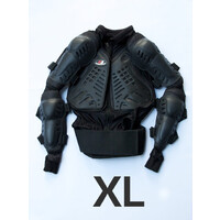 Body Armour for Motocross Enduro Trail Bike - Size X-Large