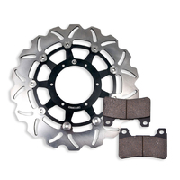 Front Brake Disc and Pads fits Honda CBR1000 RR Fireblade  2004-2005 04-05