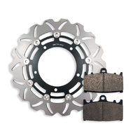 Front Brake Disc and Pads fits Suzuki GSF650 A/S/ABS Bandit, Bandit S 2007-2011
