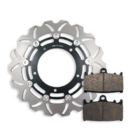 Front Brake Disc and Pads fits Suzuki GSX650 GSX650F 2008-2013 08-13