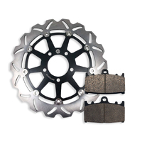 Front Brake Disc and Pads fits Suzuki GSXR750 GSXR 750 2000-2003 00-03