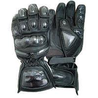S3 Leather Comfortflex Motorbike Motorcycle Gloves XXL