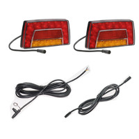 LED Trailer Lamp Kit, 2x LED Trailer Lamps with complete plug & play harness