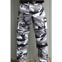 Camo Cargo Cordura Wet Weather Motorbike Pants XXXXL