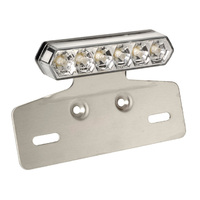 Aluminium Tail Light with LED and number plate lighting