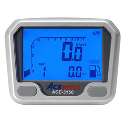 Acewell 3150 with speedo, tacho, fuel and trip meter.