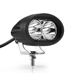 20W CREE LED Motorcycle Spot light LED Road Bike Aux Driving Light
